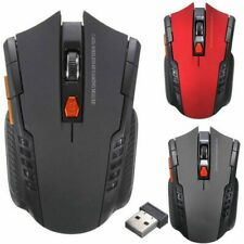 More details for pc optical wireless mouse laptop cordless usb computer 2.4ghz gaming scroll mice