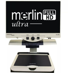 Merlin Ultra Enhanced vision Model MR2UE24A Excellent Preowned Condition W/manua