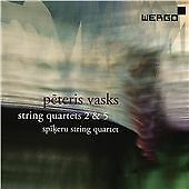 Vasks: String Quartet No. 5, String Quartet No. 2 'Summer Tunes, Spikeru String