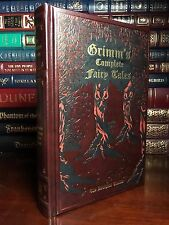 Grimm's Complete Fairy Tales New Leather Bound Sleeping Beauty Cinderella Grimm