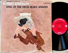 ROBERT JOHNSON: KING OF THE DELTA BLUES SINGERS LP Columbia CL 1654 2-eye 2L/2E