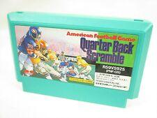 Famicom QUARTER BACK SCRAMBLE Cartridge Only Nintendo JAPAN Game fc
