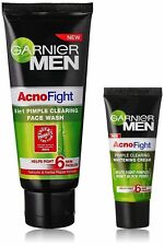 garnier ancno fight face wash 50gm + 20 gm garnier acno fight cream combo pack