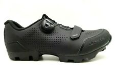 Bontrager Black Leather Adjustable Fit Slip On Athletic Cycling Shoes Women's 6