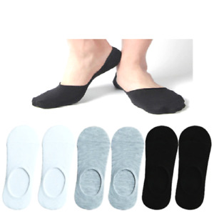 Invisible Cut Loafer Socks Ladies Girls  Women One Size White or Black size 4-6