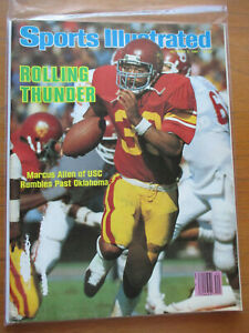 1981 Sports Illustrated  MARCUS ALLEN  USC Trojans beat No. 2 Oklahoma! NO LABEL