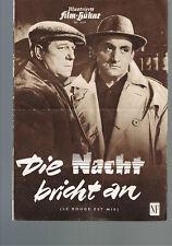 IFB Nr. 4009 Die Nacht bricht an ( Jean Gabin )