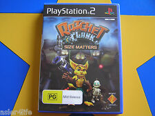RATCHET & CLANK SIZE MATTERS - PLAYSTATION 2 - PS2