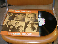 "** Lp Various ""Stars of the '30"" jazz folk country RAL 501 MONO del 1984 ***"