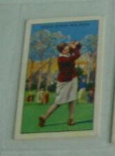 #31 miss enid wilson golf - Sport cigarette card