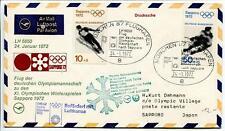 FFC 1972 Lufthansa Volo Speciale Sport Olimpiadi Invernali Sapporo Giappone