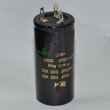 1pc 500V 50uf + 50uf 85C New Can Eelectrolytic Capacitor for tube amp DIY parts