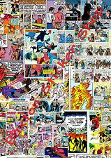 3 X Pegatina bomba Marvel Dc Comics Euro Deriva Vinilo Calcomanía VW Dub Superman Batman 2