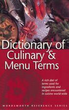 Dictionary of Culinary & MENU Begriffe____BRANDNEU__PORTOFREI UK