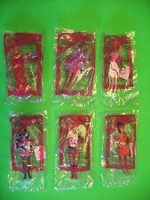 2008 McDonalds - Barbie - set of 6 *MIP*