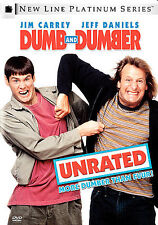 Dumb and Dumber Unrated Jim Carrey, Jeff Daniels, Lauren Holly,PERFECT CONDITION