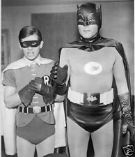 BATMAN TV Series 1966 Adam West Burt Ward 8x10 Photo