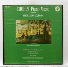 GUIOMAR NOVAES - CHOPIN piano music vol.1 VOX BOX 3xLPs box EX++