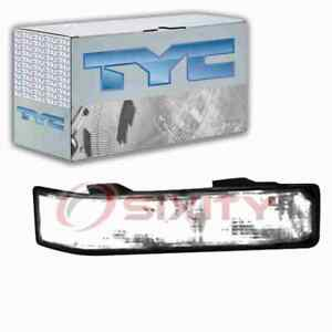 TYC Front Right Turn Signal Parking Light Assembly for 1992-1999 GMC K2500 hu