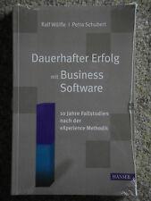 Dauerhafter Erfolg mit Business Software - Ralf Wölfle - Petra Schubert