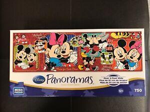 Disney Panoramas Mickey & Minnie Jigsaw Puzzle - 750 pieces