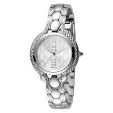 Orologio Donna JUST CAVALLI JC1L046M0055 Bracciale Acciaio Silver Snake