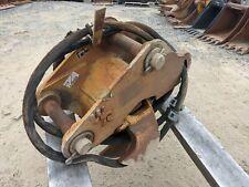 Wain Roy Tilting Excavator Coupler 60mm Pins Fits Cat Case Deere Kubota
