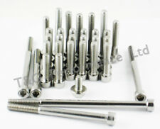 Honda VFR400 (NC30) Stainless Engine Covers Bolt Kit
