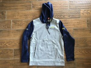 UNDER ARMOUR L A CHARGERS Football COMBINE Mens Size Medium Hoodie NFL New