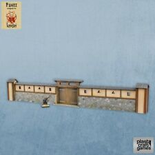 kuruwa con Gate PLAST Craft Games COSTRUZIONE terreno ripiano tavolo KENSEI Muro