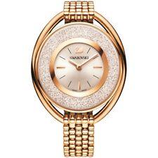 Swarovski 5200341 Crystalline Oval Rose Gold Tone Bracelet Watch