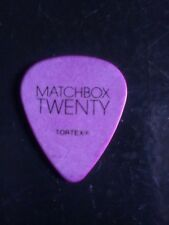 Matchbox Twenty Guitar Pick Purple Make An Offer!