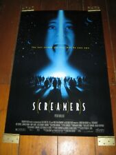 SCREAMERS Original  POSTER - 27 X40 2 SIDED
