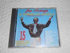 CD-  JOE ARROYO, 15 GRANDES EXITOS / tested