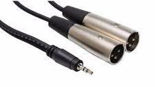 HOSA - CYX-402M - 3.5 mm TRS à double XLR3M stéréo Breakout Câble - 2m