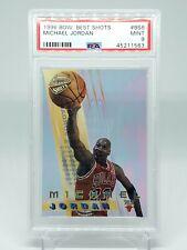 1996/97 Bowman Best Shots Basketball #BS6 Michael Jordan PSA 9 (MINT)