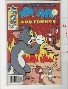 Tom and Jerry and Friends #1 Newsstand VF/NM 1991 Harvey e501