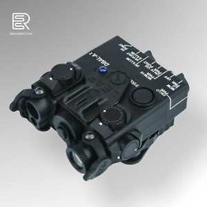 Airsoft PEQ DBAL-A2 Red Laser/ Green Laser / Light Aimming Device - METAL