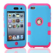 Híbrido A PRUEBA DE CHOQUES 3 en 1 Funda Cubierta para Apple iPod Touch 4 4th GEN generación 4G