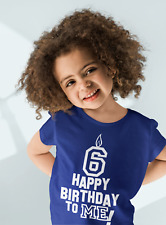 Dirty Fingers Child's T-shirt, Happy Birthday To Me! 3rd Bday up to 11th Gift