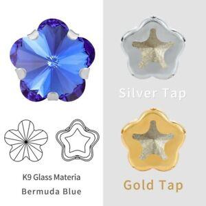 New Sew On Rhinestone Crystal Stone DIY Clothing & Accessories K9 10mm Plum Shap