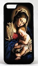 New For Apple IPhone 4s 5s 7 Virgin Mary Baby Jesus Rubber Phone Case Cover
