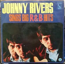 Johnny Rivers Sings Big R & B Hits Red Vinyl Japan Import Liberty LP- 8236