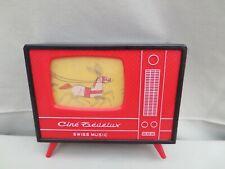 Télévision Ciné Tévélux pour enfants  avec 11 rouleaux Disney des années 50
