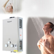 Tankless Propane Gas Water Heater 2.11 GPM 8L Water Heater Outdoor Camping RV FN