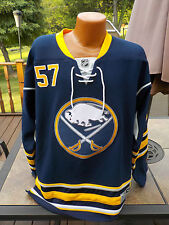 Vintage NHL Reebok On Ice TYLER MYERS Authentic BUFFALO SABREES Jersey XL