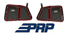 PRP Seats Door Bags - Rear Both Sides Black / Red for 14-17 Polaris RZR XP1000