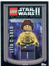 Star Wars II Lego Promo Card 01 Leia C Solo