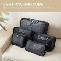 Nacuwa 5x Travel Clothes Shoes Wash Storage Bags Luggage Organizers Packing Cube