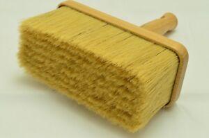 190 x 90 Wooden Pure Bristle Mix Ceiling Brush, Block Paint Brush, Masonry Fence